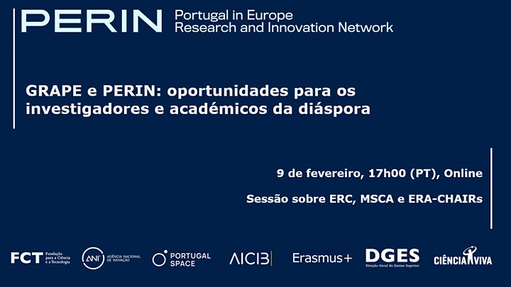 imagem PERIN – oportunidades para os investigadores e académicos da diáspora