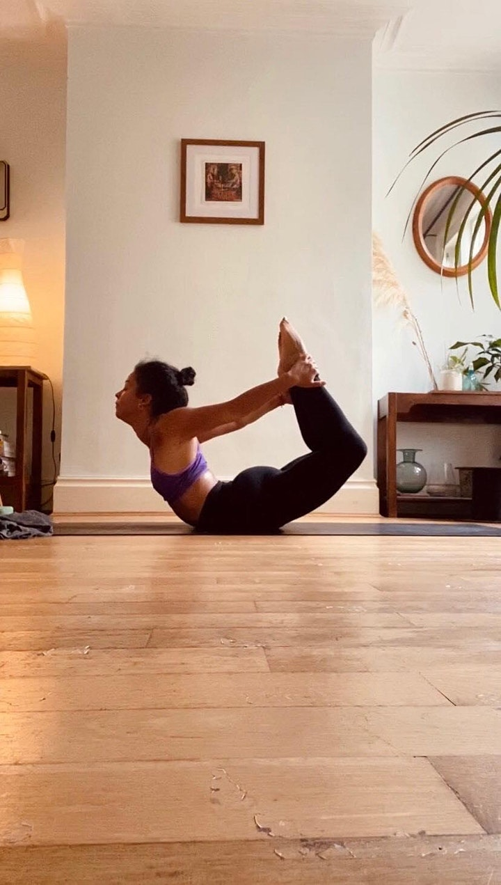 Yoga Inspired Life Drawing image