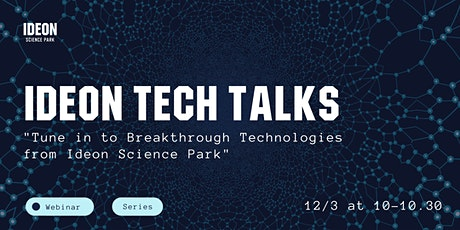 Ideon Tech Talks tickets