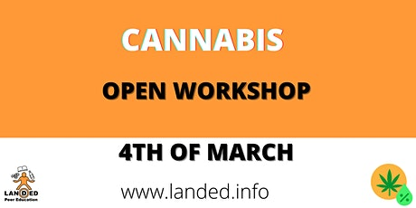 Cannabis - Online Workshop tickets