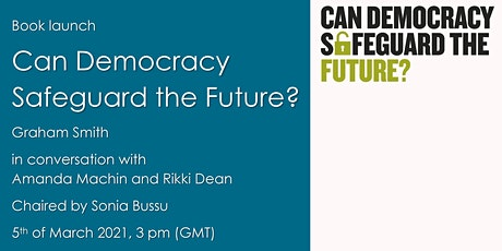 Book launch: Can democracy safeguard the future? tickets