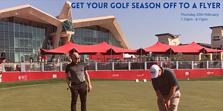 Get your golf season off to a flyer. tickets
