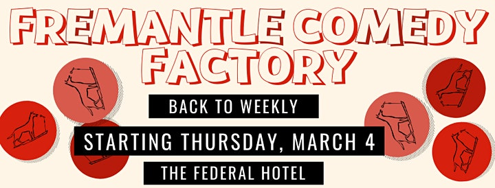 Fremantle Comedy Factory - Every Thursday Night image