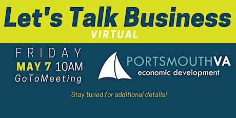 May Let's Talk Business | Portsmouth Economic Development Series tickets