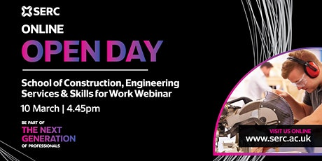 SERC Construction, Engineering Services and Skills for Work Q&A Session tickets