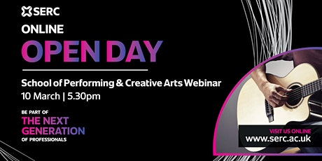 SERC School of Performing and Creative Arts  Q&A Session bilhetes