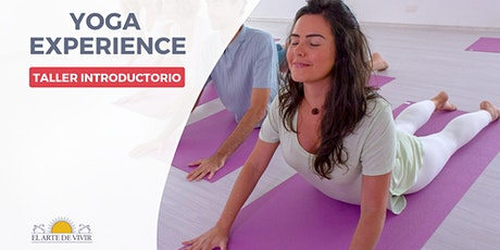 Yoga Experience - Taller Introductorio al Yoga boletos