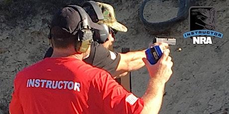 NRA Pistol Instructor Training Newport NC 4/29/2021 - 5/1/2021