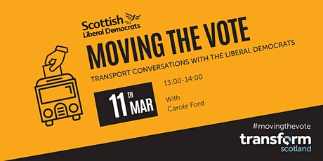Moving the Vote: Transport Conversations with the Liberal Democrats tickets