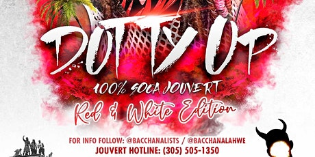 Dutty Up Red - 100% Soca Jouvert - Miami tickets