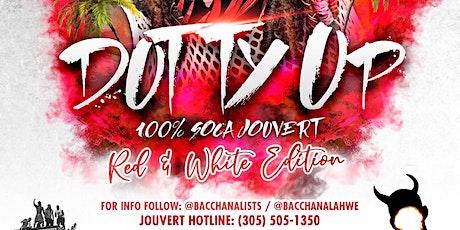 Dutty Up Red - 100% Soca Jouvert - Miami tickets