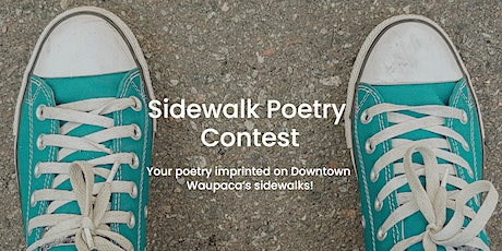 Waupaca Sidewalk Poetry Contest tickets