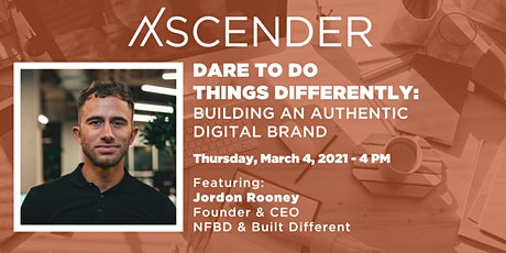 Dare to Do Things Differently: Building an Authentic Digital Brand tickets