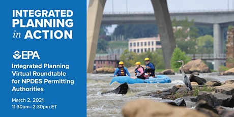 EPA's Integrated Planning Roundtable with State Permitting Authorities tickets