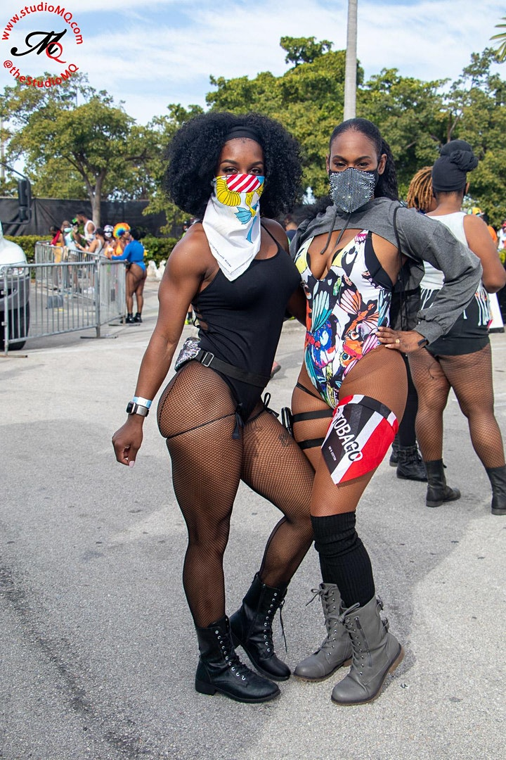 Dutty Up Red - 100% Soca Jouvert - Miami image