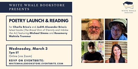 Poetry Launch & Reading: Brice, Brice, Simms, Wahtola Trommer tickets