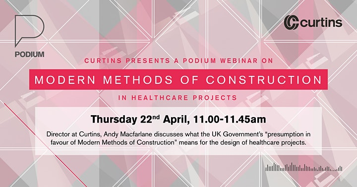 Curtins Podium: Modern Methods of Construction in Healthcare Projects image