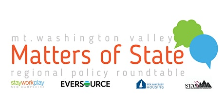 Matters of State: Mt. Washington Valley tickets