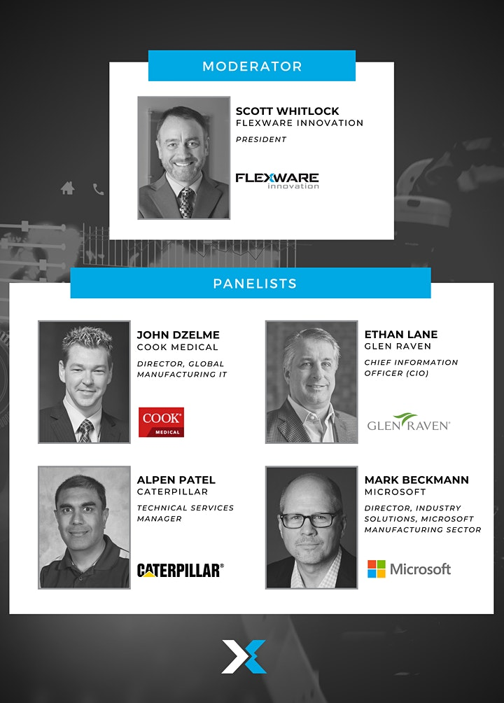 Digital Transformation Virtual Event - The Future of Manufacturing image