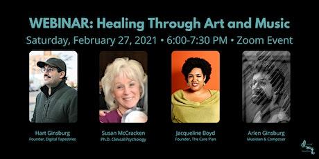 WEBINAR: Healing Through Art and Music: Comfort tickets