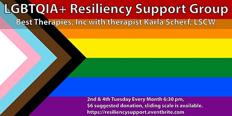 LGBTQIA+ Resiliency Support Group tickets