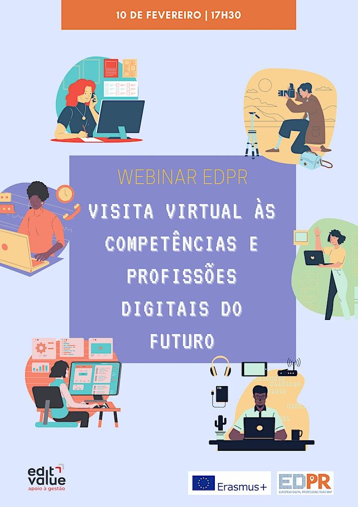 imagem Webinar EDPR - Competências e Profissões Digitais do Futuro: Visita Virtual
