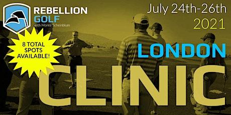 LONDON Rebellion Golf Clinic with Monte Scheinblum tickets
