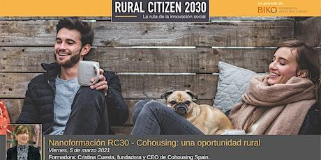 Nanoformación RC30 - Cohousing: una oportunidad rural entradas