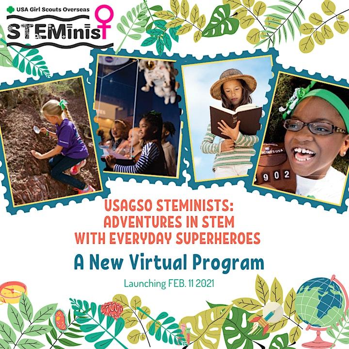USAGSO STEMinist Program Pass (2021) image