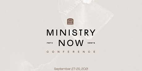 Ministry Now Conference tickets