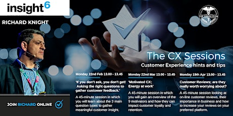 The Customer Experience Sessions - insight6 Wiltshire, Dorset & South West tickets