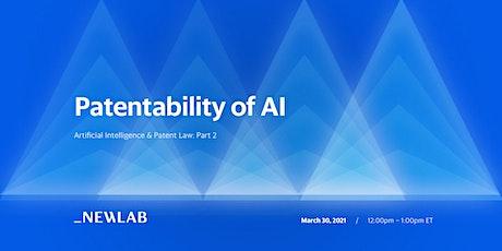 Artificial Intelligence & Patent Law: Patentability of AI biglietti