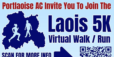 Laois 5km Virtual Run/Walk tickets