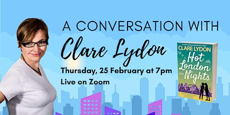 Author Evening with Clare Lydon tickets