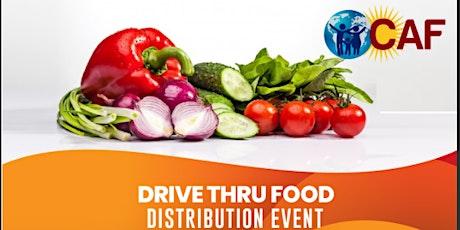 Food Distribution Event / Distribucion de Alimentos (Drive Thru) tickets