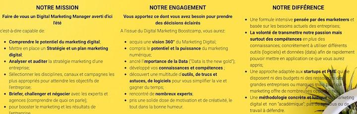 Image pour Digital Marketing Bootcamp