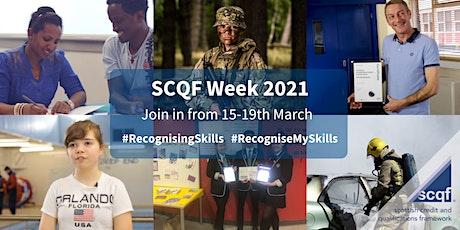 SCQF Week Webinars 2021 tickets