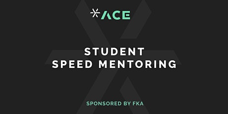 Creative Speed Mentoring - Sponsored by FKA tickets