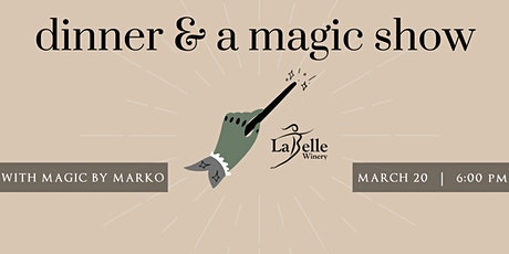 Dinner & A Magic Show with Magic by MARKO tickets