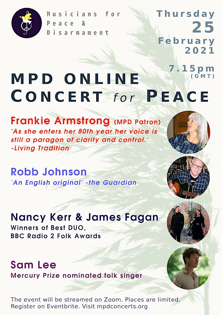 MPD Online Concert for Peace: An Evening of Folk Music 2 image