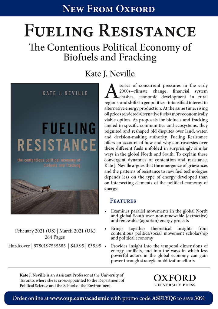 Fueling Resistance Book Launch image