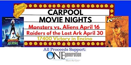 Carpool Movie Night - Aliens vs. Monsters tickets