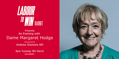 An Evening with Margaret Hodge tickets