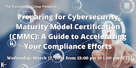 Preparing for Cybersecurity Maturity Model Certification (CMMC) tickets