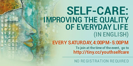 Self-Care: Improving the Quality of Everyday Life in English (Online) tickets