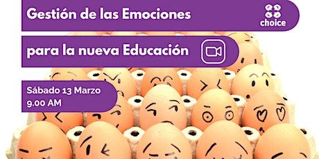 Gestión de las Emociones para la Nueva Educación tickets