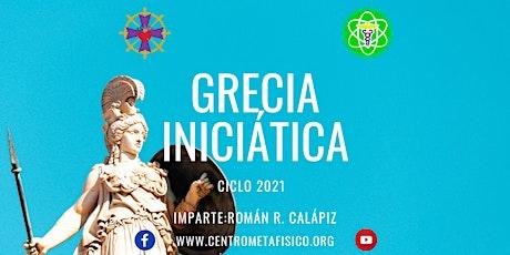 GRECIA INICIÁTICA: CURSO 2021 entradas