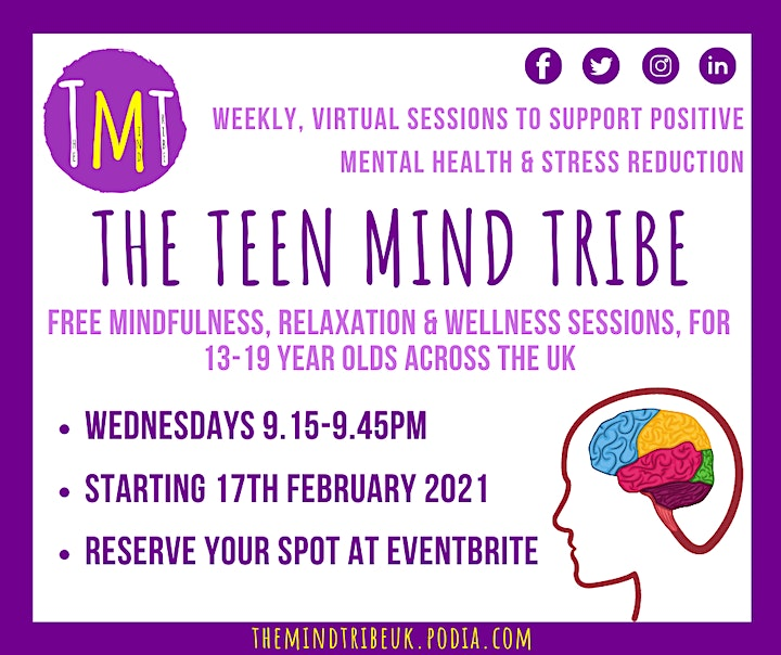 The Teen Mind Tribe (Mindfulness & Relaxation Sessions for Teens) image