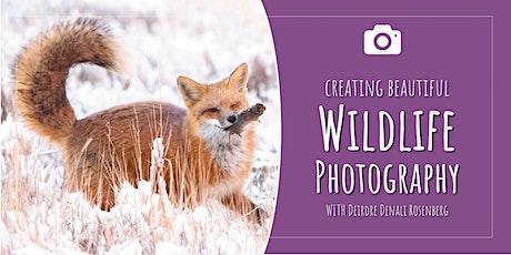 Creating Beautiful Wildlife Photography tickets