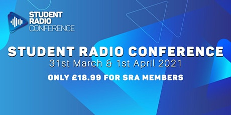 Student Radio Conference 2021 tickets